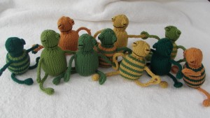 finished frogs