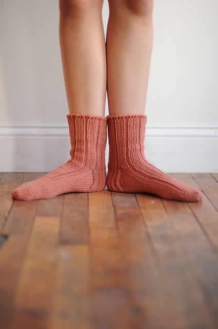 Ann's 5-gauge socks