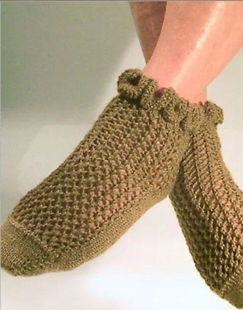 Ruffle Lace Socks