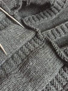 "Knit a Custom-Fit ""Pleated"" Skirt"
