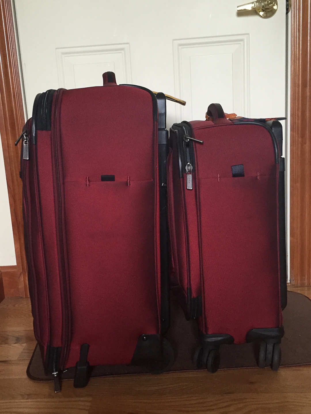 Suitcases, reduced