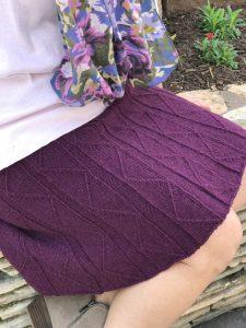 Traveling Pleats Skirt