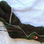 Smokey ZickZacks--Kitchener Stitch