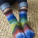 Tilt-A-Whirl Socks--The Beginning