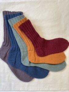 Custom Top-Down Socks