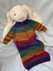 Rainbow Infant Gown