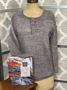 Make it Your Own: Top-Down Saddle-Shoulder Sweater